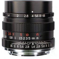 Obiettivo 7Artisans 35mm F1.4 Lens per fotocamere Sony E Nero