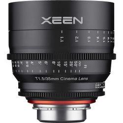 Obiettivo Cinematografico XEEN 35mm T1.5 Samyang Compatibile Sony E