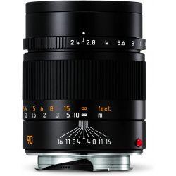 Obiettivo LEICA SUMMARIT-M 90mm f/2.4 per fotocamere con attacco Leica M nero
