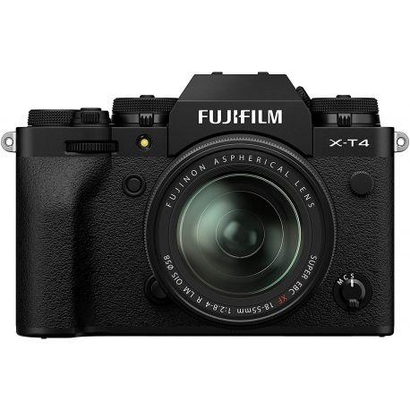 Fotocamera Mirrorless Fujifilm X-T4 kit 18-55mm F2.8-4 R LM OIS Nero