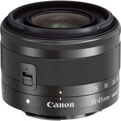 Obiettivo Canon EF-M 15-45mm F3.5-6.3 IS STM nero (bulk) PRONTA CONSEGNA