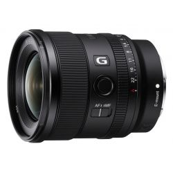 Obiettivo Sony FE 20mm f/1.8 G SEL20F18G