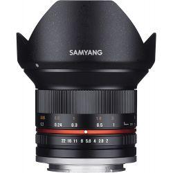 Obiettivo Samyang 12mm f/2.0 NCS CS nero compatibile Canon EOS M
