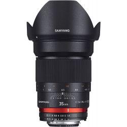 Obiettivo Samyang 35mm f/1.4 AS UMC compatibile Canon (AE Version)
