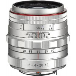 Obiettivo Pentax HD DA 20-40mm F2.8-4 ED DC WR Limited Silver