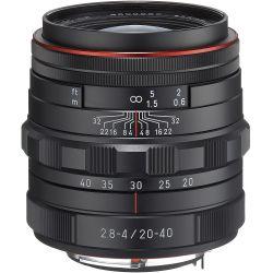Obiettivo Pentax HD DA 20-40mm F2.8-4 ED DC WR Limited Black