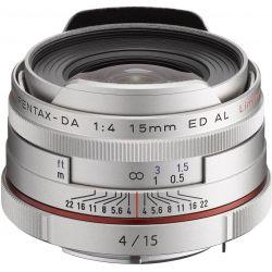 Obiettivo Pentax HD DA 15mm f/4 ED AL Limited silver