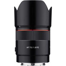Obiettivo Samyang AF Autofocus 75mm F1.8 FE per Sony E-Mount