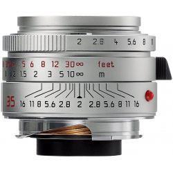 Obiettivo Leica Summicron-M 35mm F2 ASPH II Silver