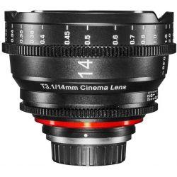 Obiettivo Samyang Xeen 14mm Cine T3.1 compatibile Micro Quattro Terzi