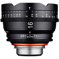 Obiettivo Samyang Xeen 16mm Cine T2.6 compatibile Micro Quattro Terzi