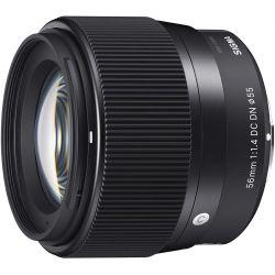 Obiettivo Sigma 56mm f/1.4 DC DN Contemporary compatibile Micro Quattro Terzi