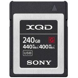Scheda di memoria Sony QD-G240F 240GB XQD 440mb/s lettura - 400mb/s scrittura