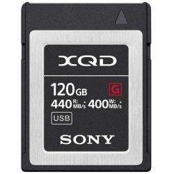 Scheda di memoria Sony QD-G120F 120GB XQD 440mb/s lettura - 400mb/s scrittura