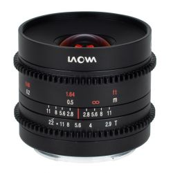 Obiettivo Laowa 9mm T/2.9 Zero-D Cine per mirrorless Fujifilm