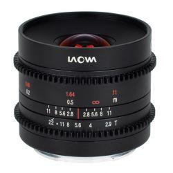 Obiettivo Laowa 9mm T/2.9 Zero-D Cine per mirrorless Sony E-Mount
