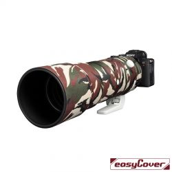 Easycover custodia in neoprene verde camo per obiettivo Sony 200-600mm Lens Oak