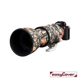 Easycover custodia in neoprene forest camo per obiettivo Sony FE 100-400mm Lens Oak