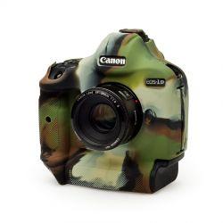easyCover custodia protettiva in silicone per Canon EOS-1D X Mark III mimetico