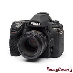 easyCover custodia protettiva in silicone per Nikon D780 nero