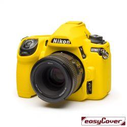 easyCover custodia protettiva in silicone per Nikon D780 giallo