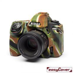 easyCover custodia protettiva in silicone per Nikon D780 camouflage