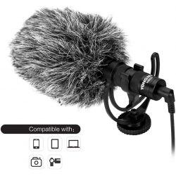 Yongnuo YN220 Microfono Direzionale per fotocamera videocamera YN-200