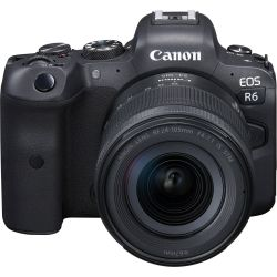 Fotocamera Mirrorless Canon EOS R6 kit 24-105mm f/4-7.1 IS STM (no adattatore)