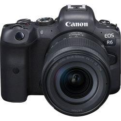 Fotocamera Mirrorless Canon EOS R6 kit 24-105mm f/4-7.1 IS STM (no adattatore)