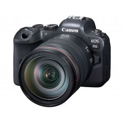 Fotocamera Mirrorless Canon EOS R6 kit 24-105mm f/4L (no adattatore)