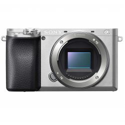 Fotocamera mirrorless Sony A6100 body silver [MENU ENG]