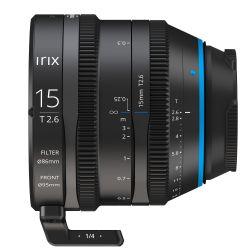 Obiettivo Irix Cine 15mm T2.6 compatibile fotocamere micro quattro terzi