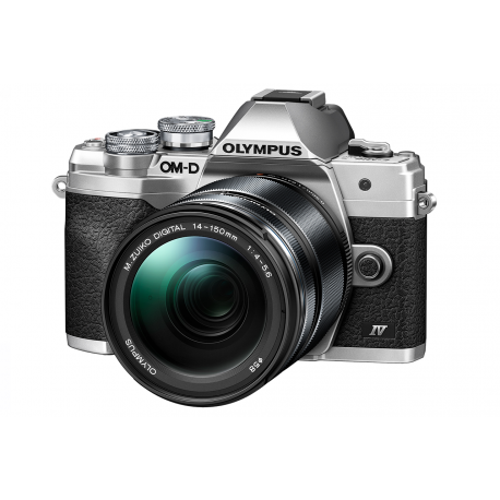 Fotocamera Olympus OM-D E-M10 mark IV kit 14-150mm f/4‐5.6 Silver