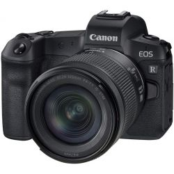 Fotocamera Mirrorless Canon EOS R Kit RF 24-105mm f/4-7.1 IS STM + adattatore EF-EOS R