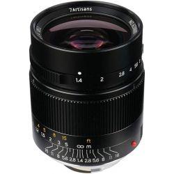Obiettivo 7Artisans 28mm F1.4 nero compatibile mirrorless Leica M (A001B)