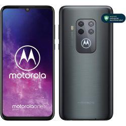 Smartphone Motorola XT2010-1 One Zoom Dual Sim 4GB RAM 128GB grigio