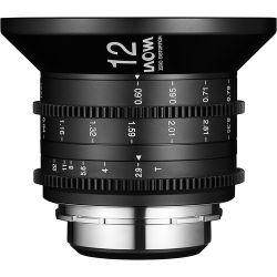 Obiettivo Laowa 12mm T/2.9 Zero-D Cine attacco PL-Mount