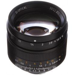Obiettivo 7Artisans 50mm F1.1 nero compatibile mirrorless Leica M (A401B)