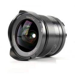 Obiettivo 7Artisans 12mm F2.8 APS-C nero compatibile fotocamere micro 4/3 (A604B)