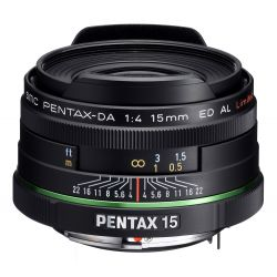Obiettivo Pentax SMC PENTAX-DA 15mm F4 ED AL Limted
