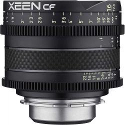 Obiettivo Samyang Xeen CF 16mm T2.6 per reflex Canon