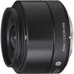 Obiettivo Sigma 19mm F2.8 DN Art Nero attacco micro quattro terzi