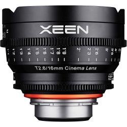 Obiettivo Samyang Xeen 16mm T2.6 compatibile fotocamere PL-mount