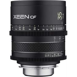 Obiettivo Samyang Xeen CF 35mm T1.5 per mirrorless Sony E-Mount