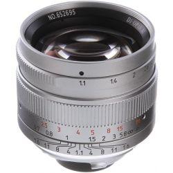 Obiettivo 7Artisans 50mm F1.1 silver attacco Leica TL/SL (A402S)