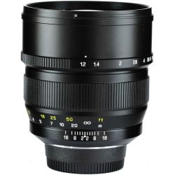 Obiettivo Zhongyi Mitakon Speedmaster 85mm f/1.2 compatibile fotocamere Sony FE