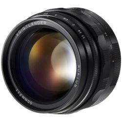 Obiettivo Voigtlander Nokton 50mm f/1.1 per fotocamere Leica M-mount