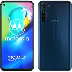 Smartphone Motorola XT2041-3 Moto G8 Power Dual Sim 64GB Blu
