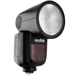 Godox V1 flash a testa rotonda per Pentax