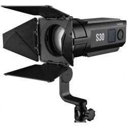 Godox S30 illuminatore faretto LED Focusing Light con alette